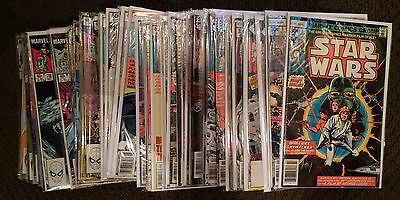 Star Wars 1-97 Marvel Bronze Age Lot of 60 Issues Mixed Grade 1977 Comic Run