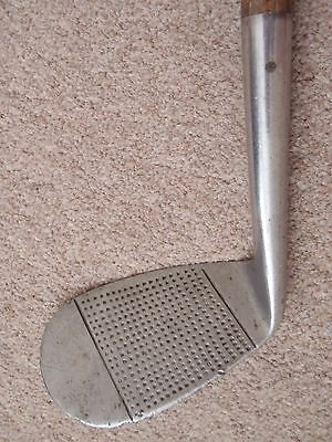 Vintage Hickory Shafted Golf Club / Hand Forged Pipe Brand Mashie Niblick