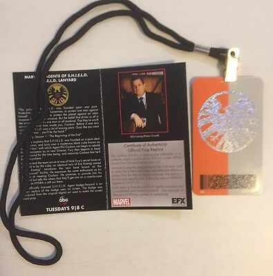 Agents Of Shield Collectable Lanyard