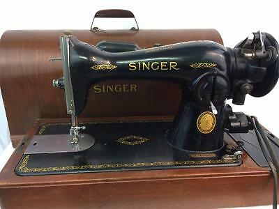 Singer Model 15-91 Sewing Machine Upholstery Leather Quilting, Accessories Works
