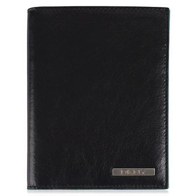 Brand New With Tags -Dkny Leather Passport Holder - Black