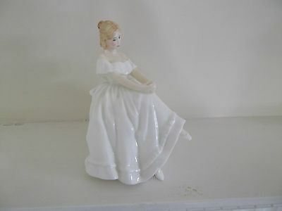 """ROYAL DOULTON  """"HEATHER""""  ref  HN2956  Seated figure."""