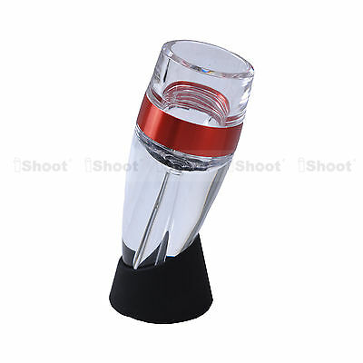 New Quick Smart Decanter Fast Red Wine Filter Portable Essential Aerator Set