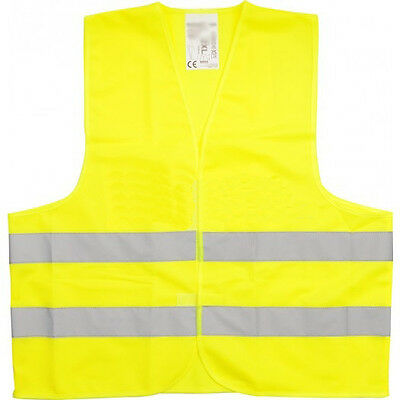 High Visibility Vest Yellow Breakdowns Accident Vest Car Safety Vest XL