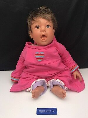 """Lee Middleton Original Doll signed by Sherry Housley 21"""" Vinyl & Cloth 219/1500"""