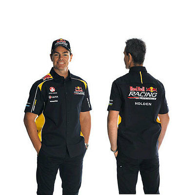 Red Bull Racing Australia Mens Team Dress Shirt Sizes S M L Xl 2Xl 3Xl
