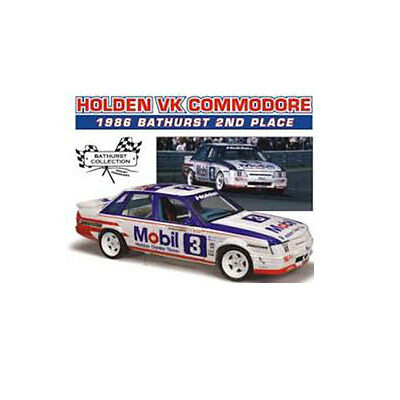 1986 Bathurst 1000 2Nd Place Holden Vk Commodore Harvey/lowe 1:18 Scale 18510