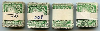 IRELAND 1922-49 SWORD of LIGHT 1/2d...400 stamps BUNDLEWARE...cv £160+...L6