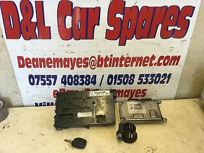 Renault Clio 1.2 16v ECU Kit 8200181482 8200285314 UCH N3 FULLY TESTED