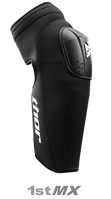 Thor Static Off Road Motocross MX Knee Guard Adults PAIR Adult ONE SIZE