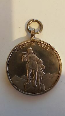 Wilhelm Tell Medal Medallion