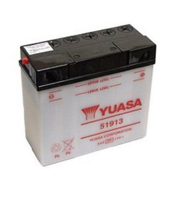 Genuine Yuasa 51913 Motorbike Motorcycle 12V Battery - quick dispatch