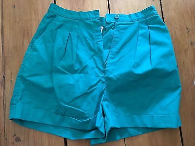 Vintage St Michael  Marks And Spencer's Green Shorts 10