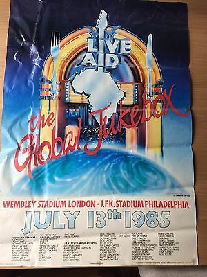 Live Aid poster 1985