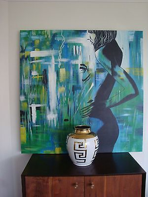 Modern Abstract Large  Canvas- RRP $329
