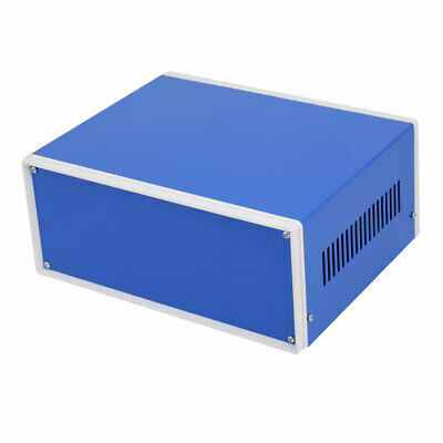 230mmx185mmx100mm Electronic Project Junction Box Enclosure Case Blue