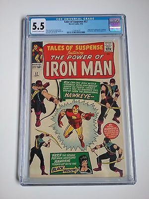 Tales of Suspense #57 1st Hawkeye CGC 5.5 Fast Shipping