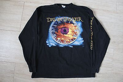 Dream Theater Vintage Shirt WAKING UP THE WORLD European Tour '95 XL