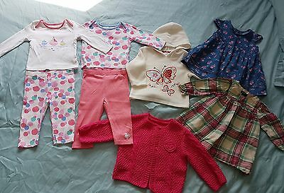Baby girls bundle of summer dresses/outfits. 6-9 mths. Gap/next. VGC