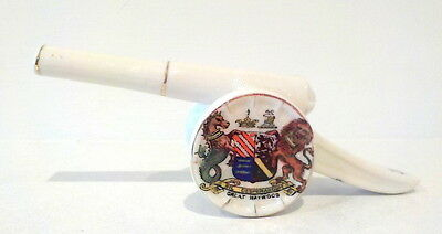Arcadian China Crested WWI Field Artillery Gun Great Haywood crest