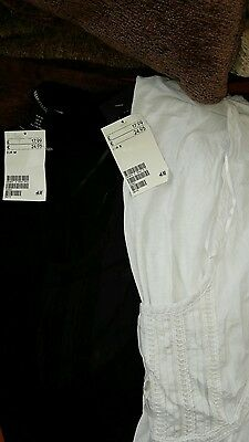 New H&M Mama maternity clothes tops x 2
