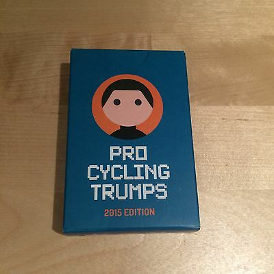Pro Cycling Trumps 2015 edition - Top Peloton Cyclist Collectable Card Game