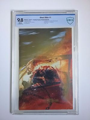 Ghost Rider 1 2016 NM/MT CBCS 9.8 Gabriele Dell'Otto Virgin Variant (not cgc)