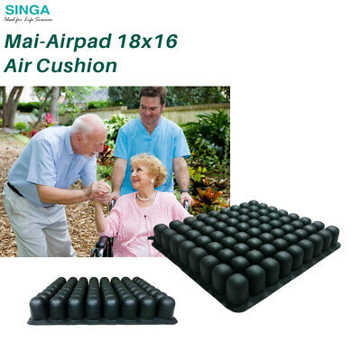 Wheelchair Comfort Cushion Air Inflate Seat Prevent Bedsores Pad Flotation Breez