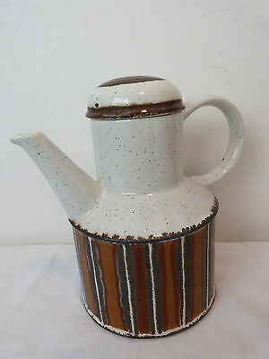 Midwinter Stonehenge EARTH Coffee/Tea Pot - Made in England As New