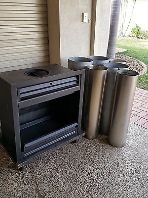 Open Fireplace Wood Fire KEMLAN Never Used