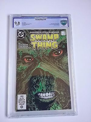 Swamp Thing #49 CBCS 9.8 Justice League Dark (not cgc)