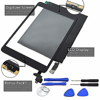 LCD Touch Screen Digitizer Replacement For Apple iPad Mini  A1432 1454 1455 Lot