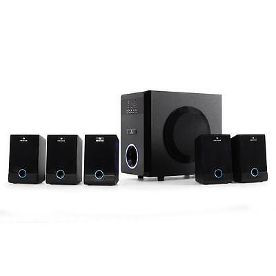 Auna Active 5.1 Channel Home Theatre Hifi System 95W Rms Computer 2.1 Speaker