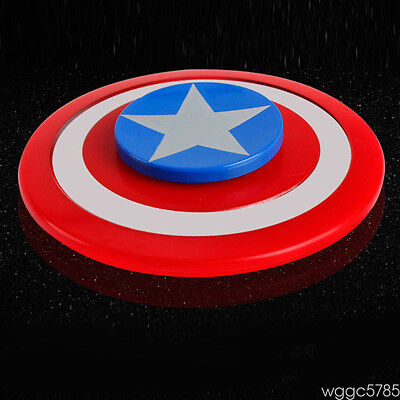 Hand DC Comics Captain America Shield Hero Spinners Spinner Fidget Toy Bearing