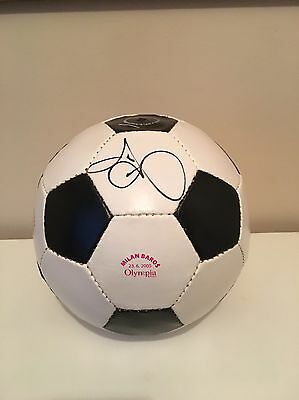 Liverpool Fc Former Player Milan Baros Official Signed Ball. Rare Item