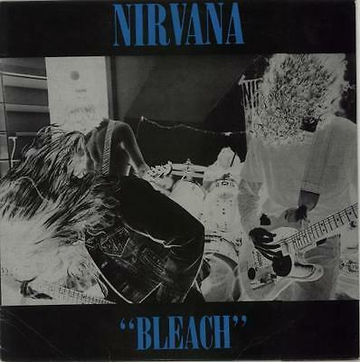 Bleach - Blue Vinyl - Blue Sleeve T... Nirvana (US) vinyl LP  record AUS