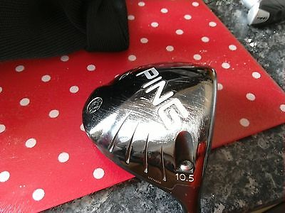SUPERB Ping G25 driver 10.5* loft Regular graphite shaft VGC comes with wrench.