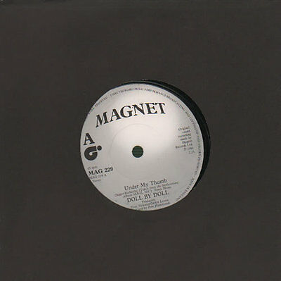 """Under My Thumb Doll By Doll UK 7"""" vinyl single record MAG229 MAGNET 1981"""