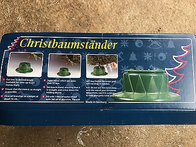 Good quality Lakeland Christmas Tree Stand / Base with water reservoir