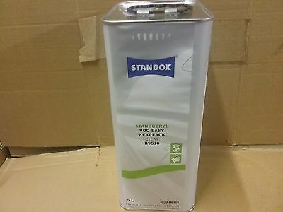 Standox VOC Easy Clear  2K Clear    5 litre  Standocryl Lacquer Clearcoat