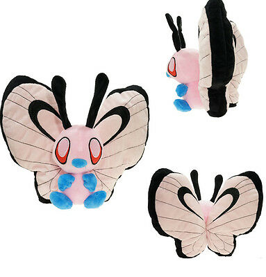 NEW Pokemon Shiny Butterfree Plush Doll Toy Soft Stuffed 12 inch Figure Gift
