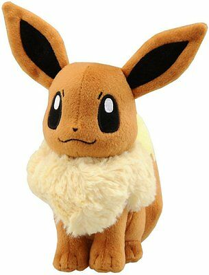 New 20cm Pokemon Pocket Monster Eevee Soft Plush Toy Stuffed Doll Kids Gift Toy