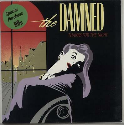 """Damned 12"""" vinyl single record (Maxi) Thanks For The Night UK DAMNED1T"""