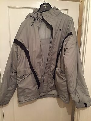 Men's XL Waterproof Nike Coat, Grey