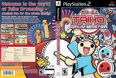 Taiko Drum Master (Sony PlayStation 2, 2004) - Inc Manual, No Drums