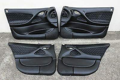 Vgc: Gm Vt Vx Vy Vz Front & Rear Door Trims / Cards - Black - Berlina Ss V8 V6