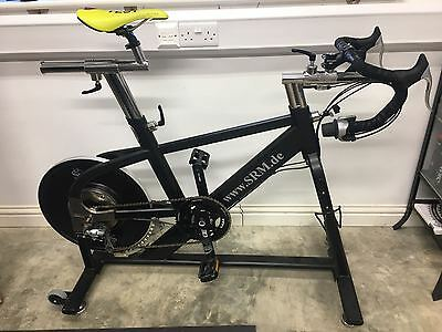 SRM IndoorTrainer with Rotor 3D+ PM and PC7