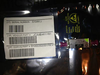 BRAND NEW JCA48-4111B1 RFAmplifiers 4-8.6GHz 34dB C-band with Test Data