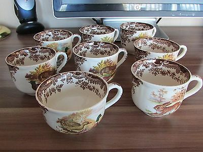 Royal Worcester Palissy Game Series  Cups (various sizes)