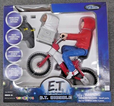 E. T. The Extra Terrestrial Remote Controled Bicycle 49MHz TOYS R US exlusive!